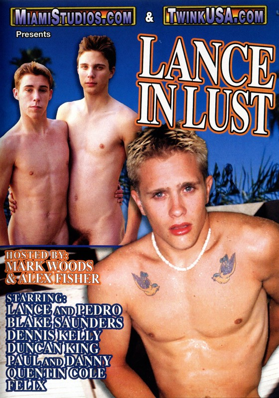 Lance In Lust DVD - Front