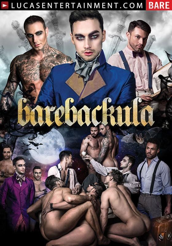 Barebackula DVD - Front