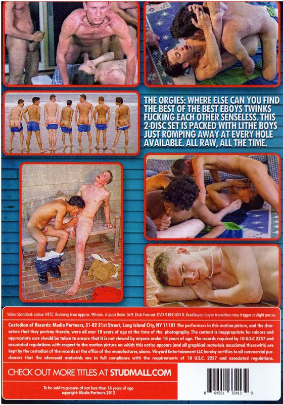 Cobra Anthology: The Orgies DVD - Back