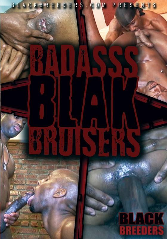 Badass Blak Bruisers DVD - Front