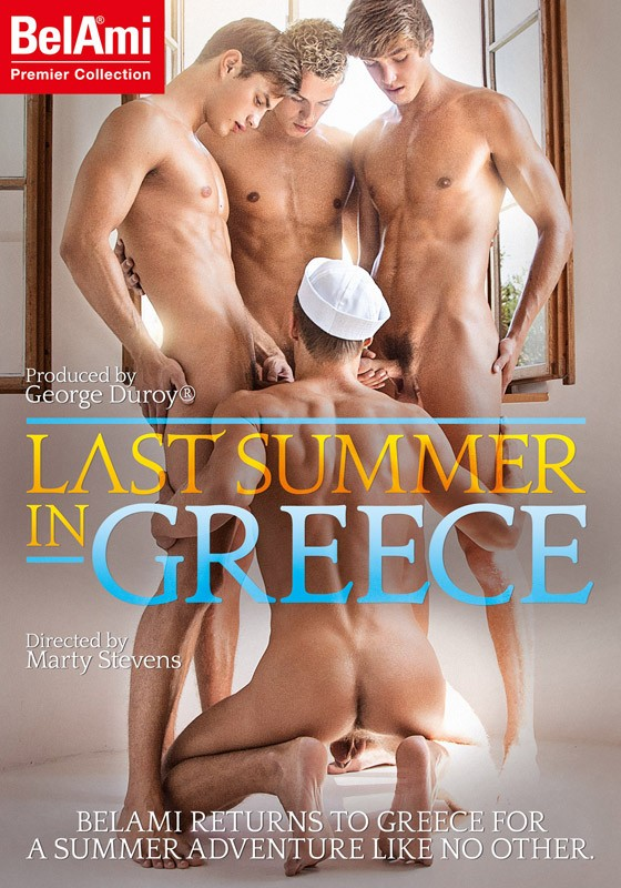 Last Summer In Greece DVD - Front