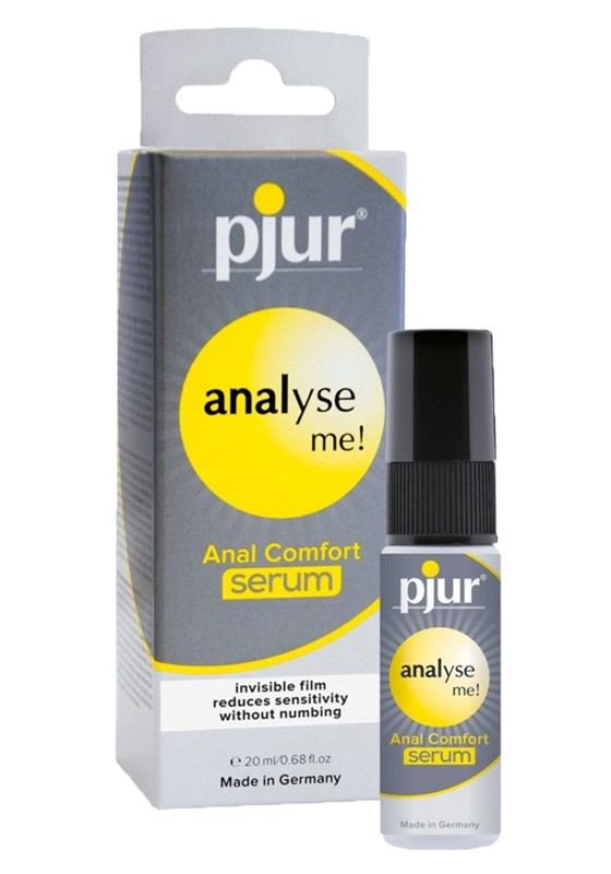 Pjur analyse me! Anal Comfort serum pump Bottle 20 ml - Front