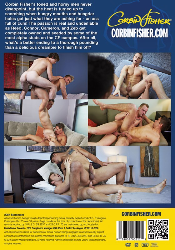 Collegiate Creampies volume 2 DVD - Back