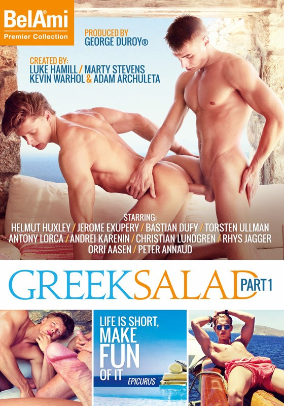 Greek Salad Part 1 DVD - Front
