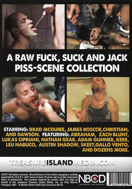 Piss DVD - Back