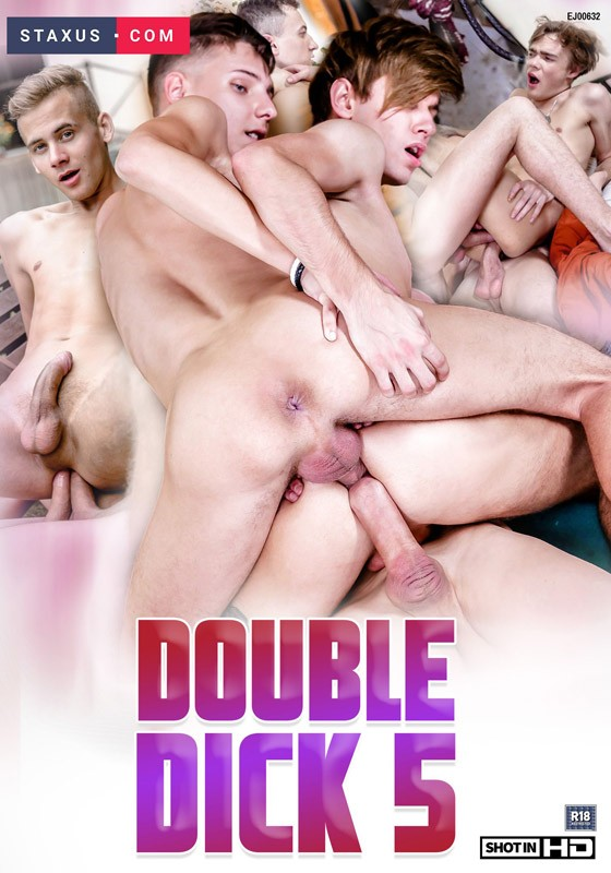 Double Dick 5 DVD - Front