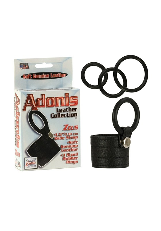 Adonis Leather Collection - Zeus - Front