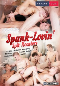 Spunk Lovin' Spit Roasters DOWNLOAD - Front