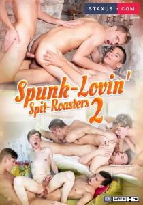Spunk-Lovin' Spit-Roasters 2 DOWNLOAD - Front