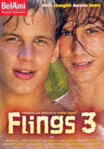 Flings 3 DVD - Front