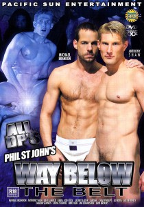 Way Below the Belt DVD - Front