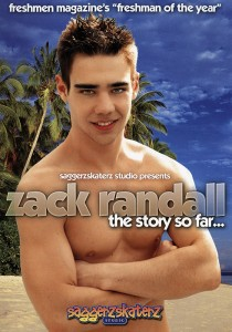 Zack Randall: The story so far... DVD - Front