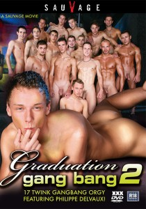 Graduation Gang Bang 2 DVD