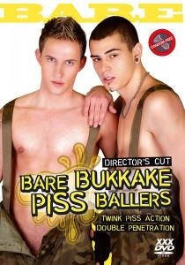 Bare Bukkake Piss Ballers DVD (NC)