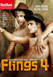 Flings 4 DVD - Front