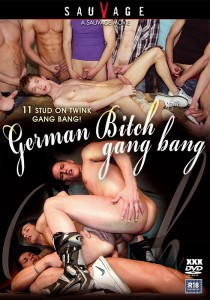German Bitch Gang Bang DVD (NC)