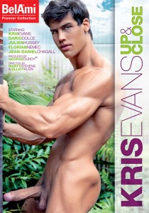 Kris Evans: Up & Close DVD - Front