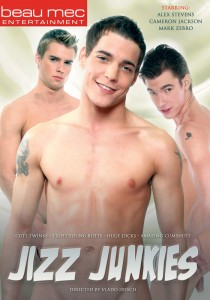 Jizz Junkies DVD - Front