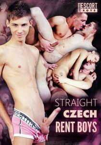 Straight Czech Rent Boys DVD - Front