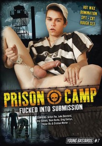 Prison Camp DVD - Front