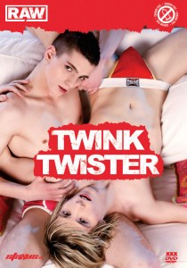 Raw Twink Twister DVD - Front