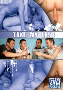 Take My Load DVD - Front