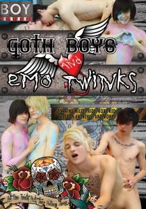 Goth Boys & Emo Twinks DVD (NC)