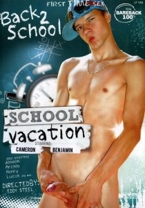 School Vacation DVD - Front