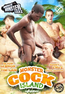 Monster Cock Island DVD - Front