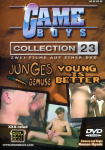 Game Boys Collection 23 - Junges Gemuese + Young Is Better DVD (NC)