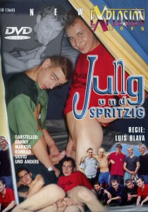 Jung und Spritzig DVD - Front