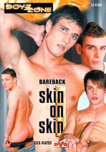 Bareback Skin On Skin DVD - Front