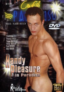 Randy Pleasure In Paradiso DVD