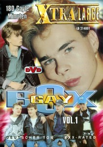 Gay Box Vol 1 DVD - Front
