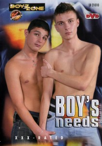 Boys Needs DVD - Front