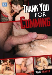Thank You For Cumming DVD - Front