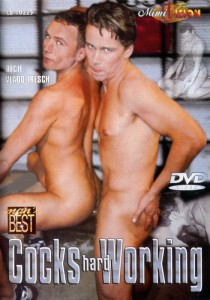Cocks Hard Working DVD - Front