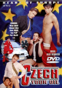 Czech Your Oil DVD - Front
