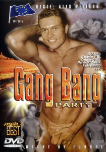 Gang Bang Party DVD - Front