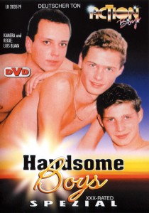 Handsome Boys DVD - Front