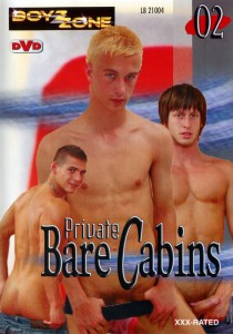 Private Bare Cabins 02 DVD - Front
