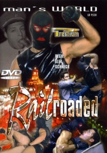Railroaded DVD - Front