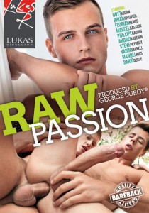 Raw Passion (Lukas Ridgeston) DVD - Front