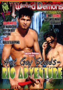 Hot Gay Studs - Rio Adventure DVD