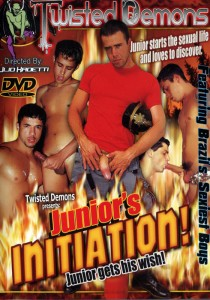 Junior's Initiation! DVD
