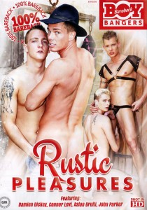 Rustic Pleasures DVD - Front