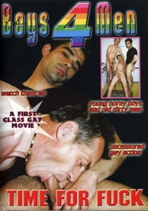 Time For Fuck DVD - Front