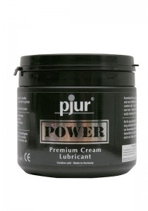 Pjur POWER Premium Creme Tub 500 ml - Front