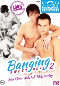 Banging Sweet Boys 2 DVD - Front