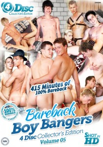 Bareback Boy Bangers Collector's Edition Volume 5 DVD